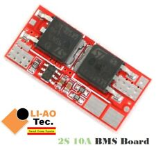2S 10A 8.4V Li-ion Lithium 18650 BMS PCM Charging Battery Protection Board