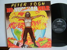 Peter Tosh - No Nuclear War  PCS 7309  UK LP  1st Press 1987 Parlophone