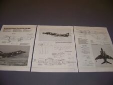 VINTAGE..B.A. SEA HARRIER FRS MK.I...5-VIEWS/DETAILS/WEAPONS..RARE! (938G)