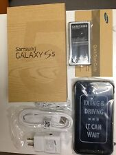 New In Box Samsung Galaxy S5 Active SM-G870A Camo Green AT&T Smartphone