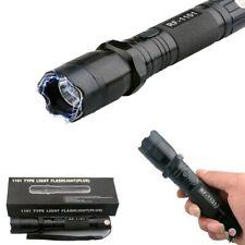 TASER/SHOCKER Lampe LED+TASER 1.000.000V rechargeble auto-défense