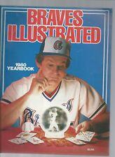 Original  1980  Atlanta Braves  Yearbook    nr mt  ncondition