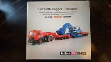 Kibri 10402 Hochloffelbagger Transport MAN Scheuerle Liebherr