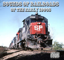 Train Sounds On CD: Sounds Of Railroads Of The Early 1990s