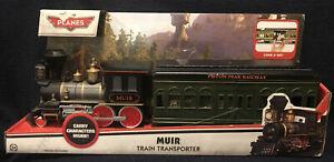 NEW RARE Disney Planes: Fire & Rescue Muir Train Transporter