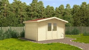 IN STOCK! Log cabin ASCOT 3x3 m/ 44 mm walls/ FREE DELIVERY*