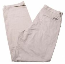 LEE Mens Chino Trousers W32 L32 Beige Cotton  MQ04