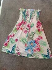 Unbranded Stretchy Strapless Knee Length Dress Size 10/12.
