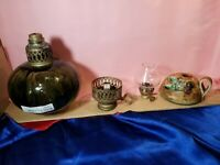 VINTAGE kerosene & oil lamp Parts only