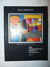 Catalogo Asta - Nuova Brera Arte Contemporanea astratto avanguardie 1990