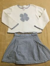 Great Condition Strasburg Sweater And Adjustable Skirt Set Size 4