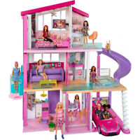 Barbie Dreamhouse Large Three-Story Dolls House Accessories Included Playset