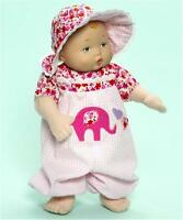 """Madame Alexander My First Baby Pink Elephant 12"""" Baby Doll"""