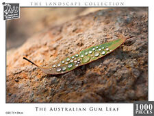 NEW Australian Puzzle Company Jigsaw Puzzles Deluxe Australian Gum Leaf 1000 pc