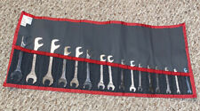 FACOM FM-34.JL16T Open End Wrench Set,15 Deg,3.5-17mm,16Pc