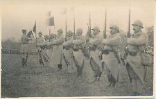 Carte Photo Guerre WW1 - Revue de Troupes - GV 57