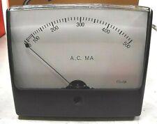 Simpson Electric 10320 Model1359 Panel Meter 0 500 Ac Ma 5 In Display Fshp
