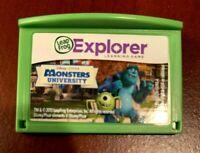 Leap Frog LeapPad Explorer Learn: Monster's University, Leap Pad 1 2 3 GS Ultra