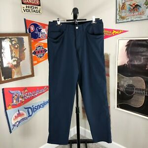 Lululemon ABC Golf Pants Blue Performance Men's 31x30