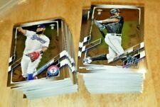 2021 Topps Chrome Ben Baller Baseball YOU PICK CARDS
