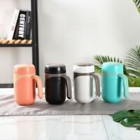 Ceramic Cup Vacuum Flask Cup Leakproof Insulated Bottle Mug Home Office Tea  1X7