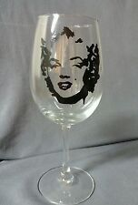 Wholesale Lot 12 Hand Painted Marilyn Monroe Wine Glasses Gift Christmas Present