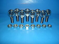 4-Link 5/16-24 x 5/16 Bore, Chromoly, Rod End / Heim Joint, With Jam Nuts