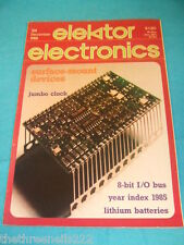 ELEKTOR - LITHIUM BATTERIES - DEC 1985 # 128