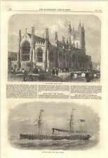 1870 Croydon New Parish Church New China Clipper Sin Nanzing