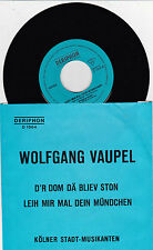 Wolfgang Vaupel  - D´r Dom dä bliev ston