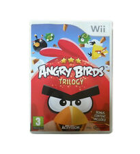 Angry Birds Trilogy (Nintendo Wii, 2013) CHEAP PRICE AND FREE POSTAGE