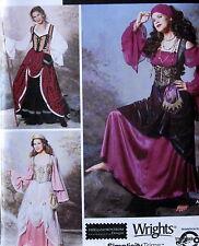 Gypsy Witch Woman Peasant Elaine Heigl Costume pattern dress sz 6 8 10 12