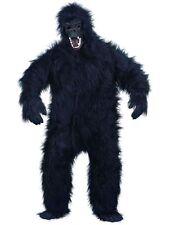 Adulto De Lujo Gorila Disfraz Traje Mono Suit 96.5-117cm de Smiffys NUEVO