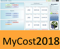 MyCost2018 - eBay Spreadsheet, Track Profit, Sales, Fees - Excel Bookkeeping app