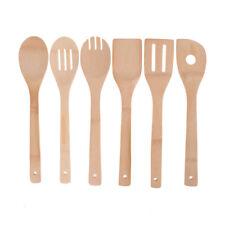 Bambou bois outils cuisine cuillères spatule cuisine en bois