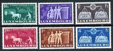 LUXEMBOURG #272-7 MINT LH UNITY SET OF SIX  VF FRESH