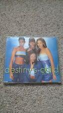 "Destinys Child ""No No No"" Beyonce Wyclef Jean 4 Tracks CD Single"