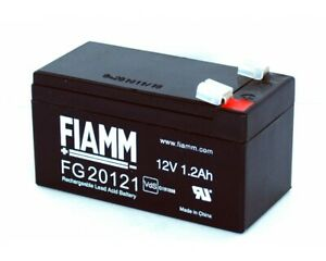 Lead Battery AGM Rechargeable 12V 1,2Ah For Ups, Photovoltaic, Alarms