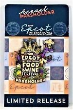 Disney Epcot Food & Wine Festival 2017 Figment Passholder 3-D Pin Limited NEW