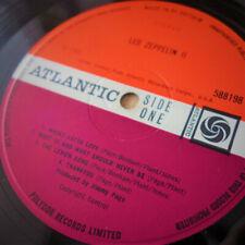 Led Zeppelin - Led Zeppelin 2 - 1969 Original GB Lp