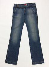 Liu jo jeans corso pant w30 tg 44 gamba dritta donna boyfriend usato blu T1335