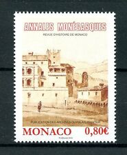 Monaco 2016 MNH Monegasque Annals 1v Set History Buildings Architecture Stamps