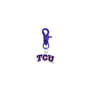 TCU Horned Frogs Pet Tag Collar Charm COLOR EDITION College Dog Cat