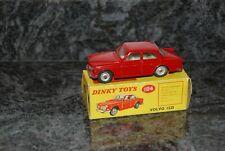 ANCIENNE VOITURE DINKY TOYS AVEC SA BOITE VOLVO 122S  REF 184