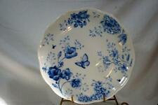 "Lenox Butterfly Meadow Toile Blue Dinner Plate 11"" New"