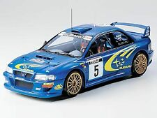 Tamiya 1/24 Subaru Impreza WRC '99 model kit # 24218