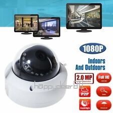 Full HD 1080P 2MP IP Dome Camera Vandal Proof Outdoor Network IR Night Vision