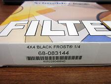 """New Schneider 4x4"""" Black Frost 1/4 Glass Filter (Tiffen Pro-mist) 68-083144"""