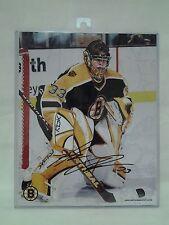 NHL Boston Bruins Hannu Toivonen Goalie Signed Photo W Cert Of Authenticity