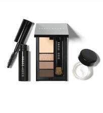 NIB Bobbi Brown Mini Eye Palette Shadow Mascara Taupe Eyeliner Brush Eye Cream